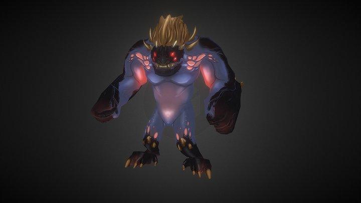 RPG Demon Boss 3D Model