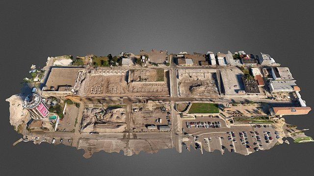 Shoppes at Laredo Aerial Survey - December 2015 3D Model