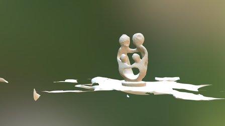 Mini Statue 3D Model
