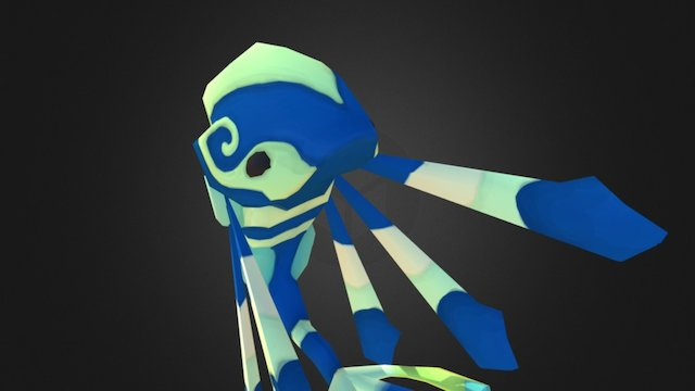 Lumini: Blue Lumini, 2nd form 3D Model