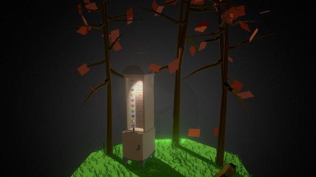 Love Debris 3D Model
