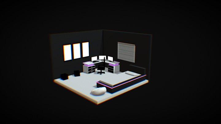 Room Simple 3D Model