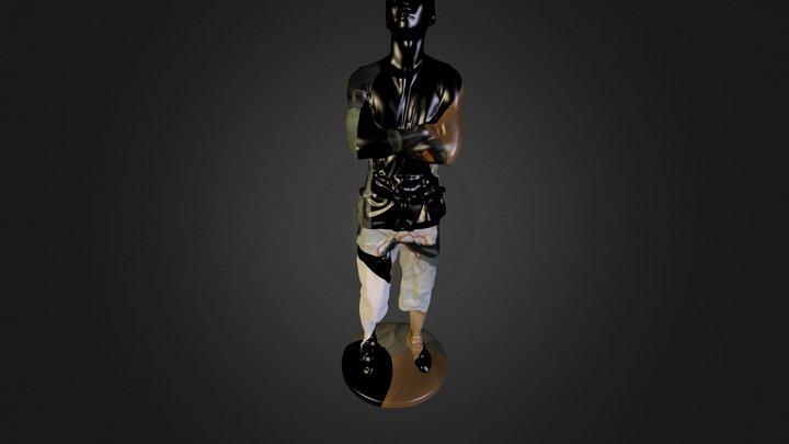 Climber20cmOBJ 3D Model