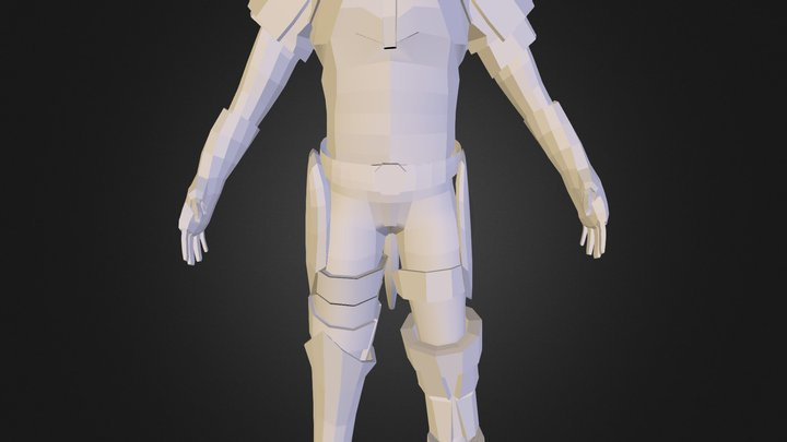 581689 Lozano Carlos Mod Personaje 3D Model