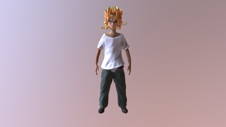 All Might - My hero acdemia 3D Model