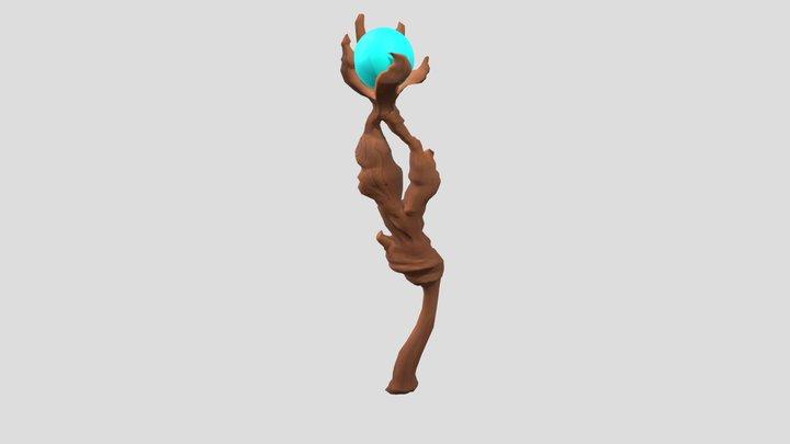 Magic Staf 3D Model