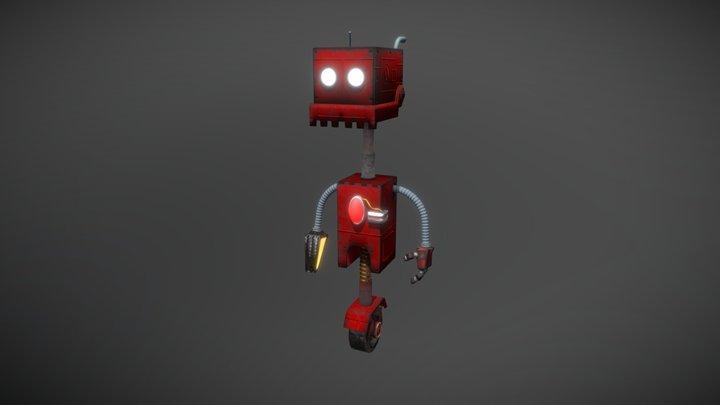 Rustic Robot 3D Model