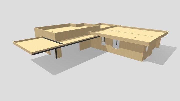 Villa in xlam in provincia di Bergamo 3D Model
