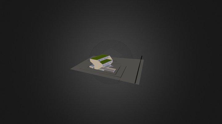 Dao Xanh Da Nang 3D Model