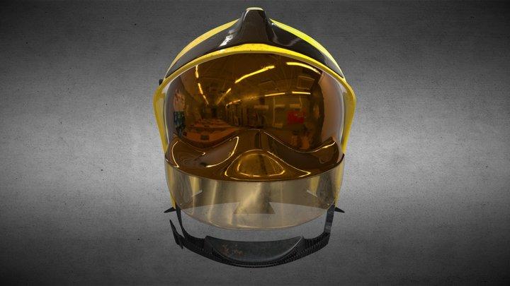 Gallet helmet 3D Model