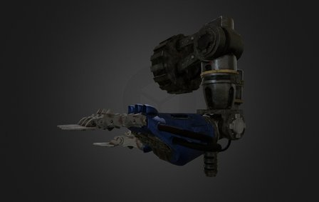 Gauntlet thunderstrike, unofficial fan work 3D Model