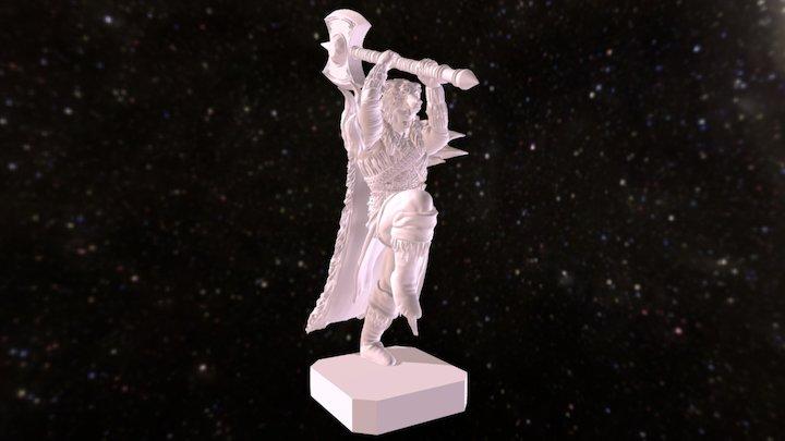 King Harromere Briar Eloden 3D Model
