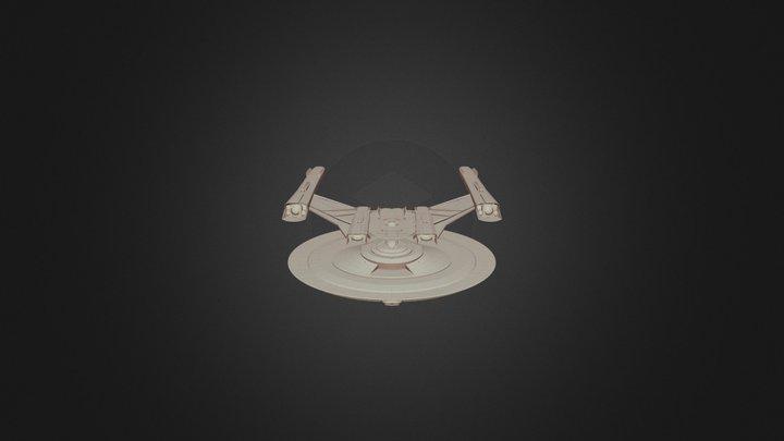 Federation Shepard Class Cruiser 3D Model