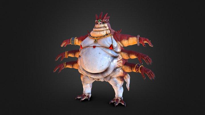 Hive Mother 3D Model