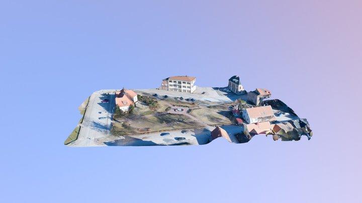 Badhusparken 3D Model