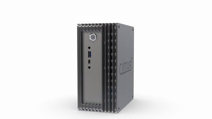 cirrus7 incus A300-35W - for AMD Ryzen 35W TDP 3D Model