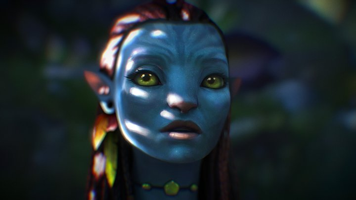 Neytiri - Avatar 3D Model