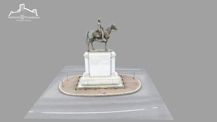 Stonewall Jackson Monument 3D Model