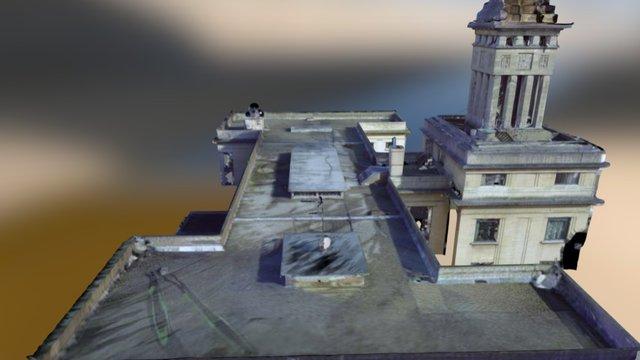 Toiture Mesh rvb 3D Model