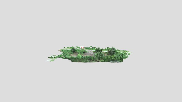 Johnstone_Landfill_Mesh_simplified_3d_mesh 3D Model