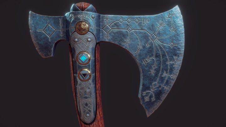 Leviathan Axe 3D Model