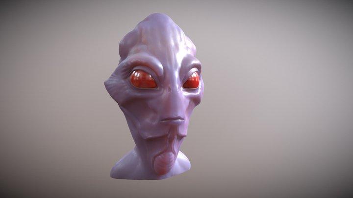 concept head 3D Model