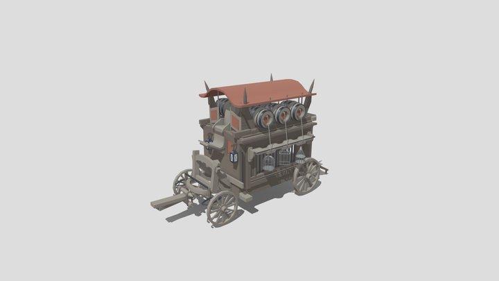 Witch Hunter - XYZ homework 3D Model