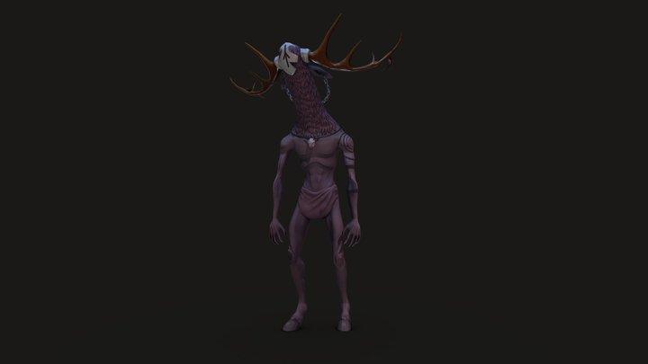 Forest Spirit 3D Model