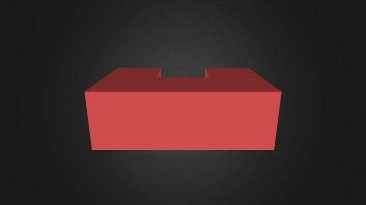 Demo red part 3D Model
