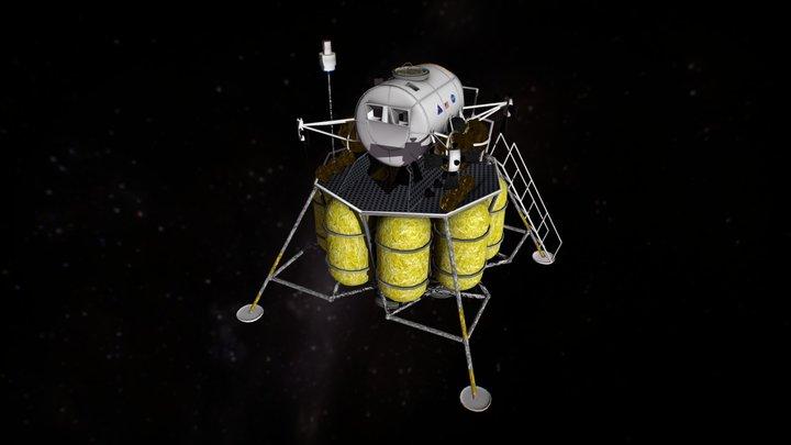 Altair Lander 3D Model