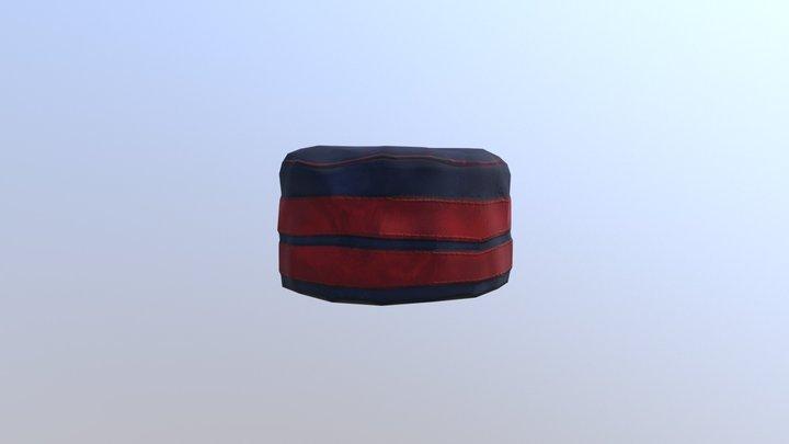 "Spanish ""Panadero"" Uniform's Hat - Colonial 3D Model"