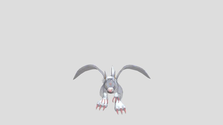 Mobile - Digimon Links - Dorugamon 3D Model
