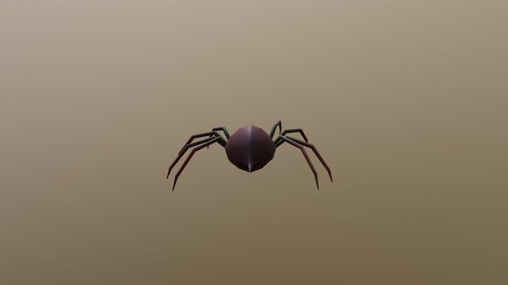 spider 3D Model