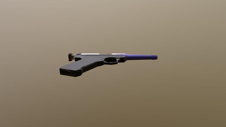 The Gun NEW1 Painted2 3D Model