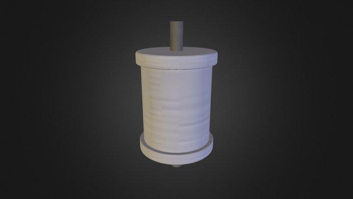 Stone 2 PARKER 3D Model