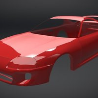 Toyota Supra 1993 (WIP) 3D Model