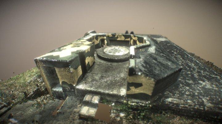 Anti-Aircraft bunker G23 type L410A 3D Model