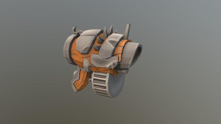 Gun 3 3D Model