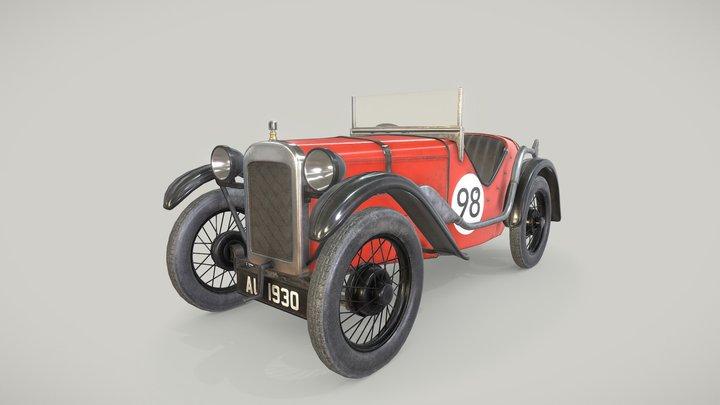 Austin 7 Ulster 3D Model