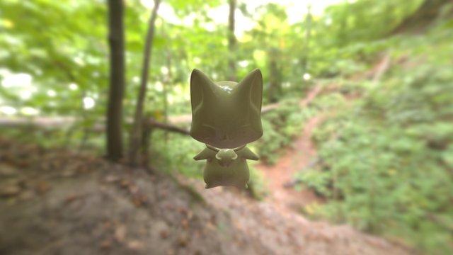 Mudbox作業小狐狸 3D Model