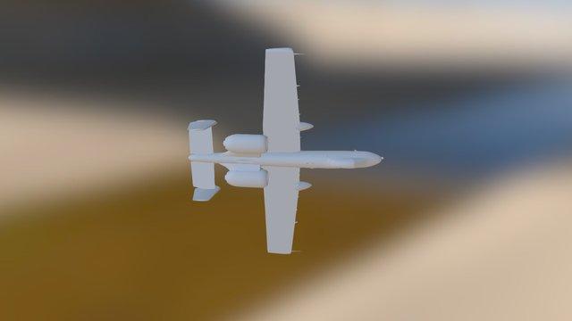 A-10 Tunderbolt II 3D Model
