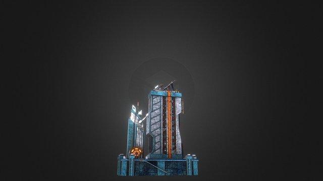 Exploration Antenna A 3D Model