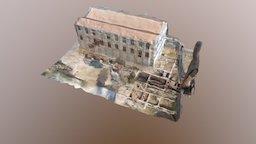 Vapor Gordils Edifici 3D Model