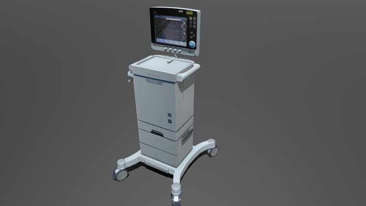 SERVO-i  ventilator 3D Model