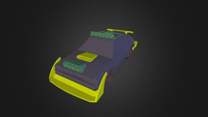 3DRacers - Delta 3D Model