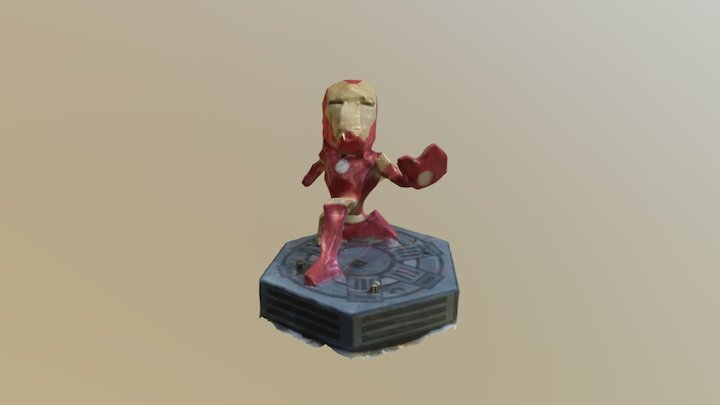 Iron Man papercraft 3D Model