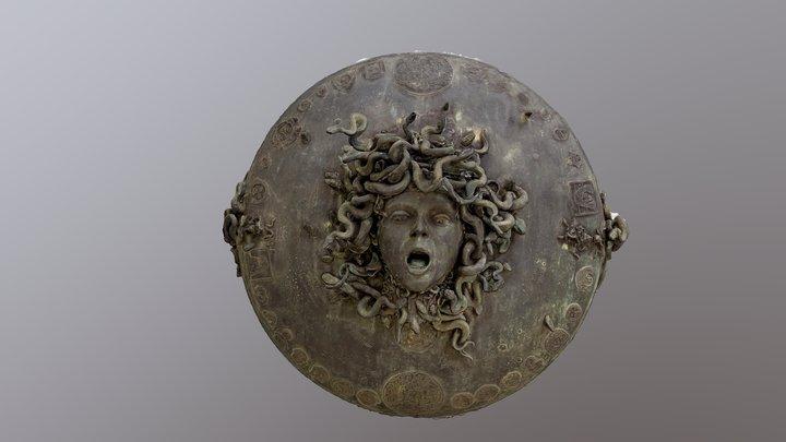 Medusa sculpture, Ciclopica exhibit, Sicily 3D Model