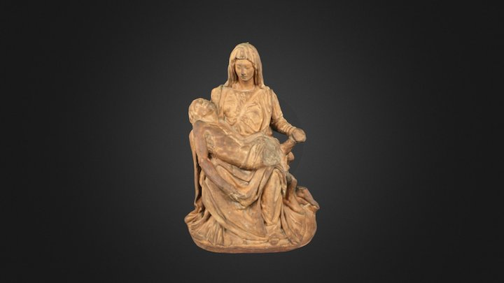 Pieta 3D Model