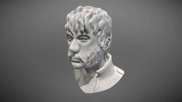 HighPoly self-portrait 3D Model