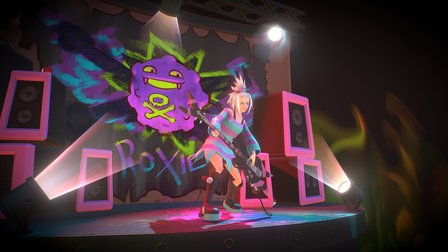 Pokemon - Roxie's solo 3D Model
